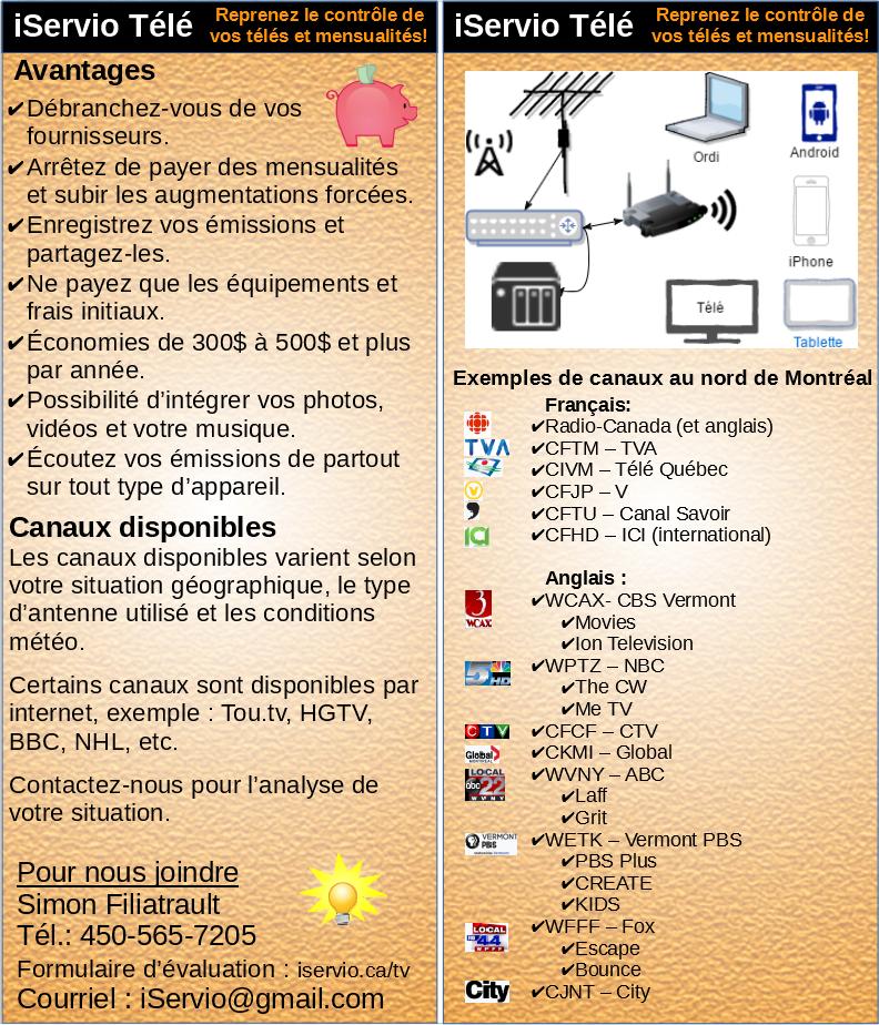 Flyer Web OTA - iServio télé